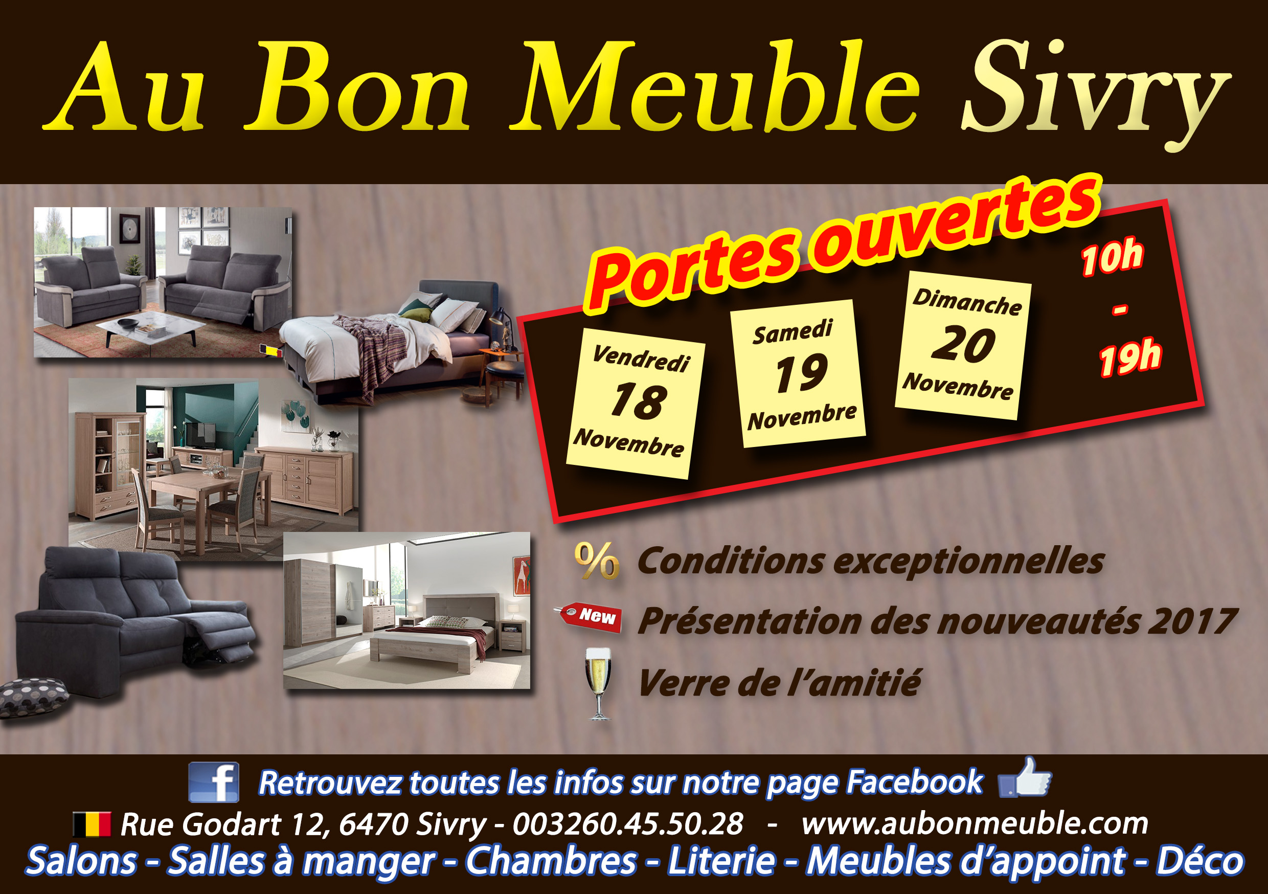 bienvenue au bon meuble sivry. Black Bedroom Furniture Sets. Home Design Ideas